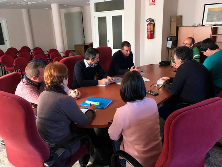 reunión con la Mancomunidad del Rincón de Ademuz